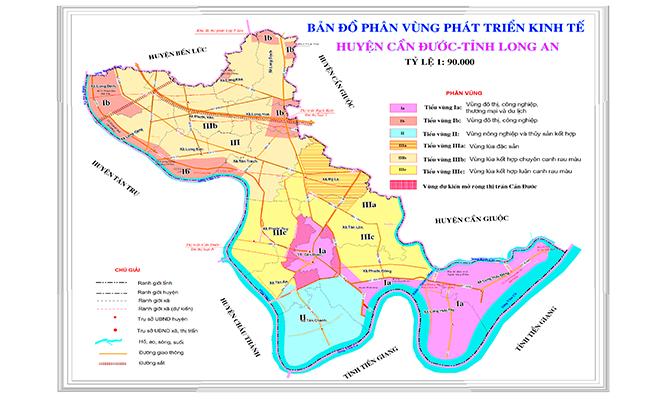 Bản đồ quy hoạch huyện Cần Đước năm 2019 - 4