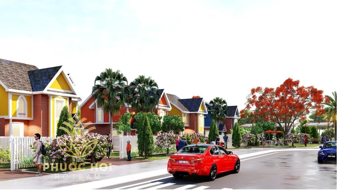 Khu dân cư Phước Hội Hồ Tràm 3